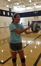 Girls volleyball sets up for the upcoming season