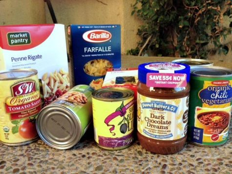 Homecoming food drive results announced on Sept. 25