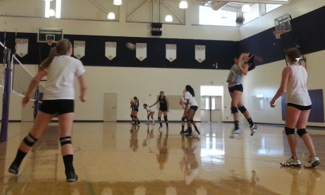 Girls Volleyball scrimmage vs. Salinas High School is Game of the Week