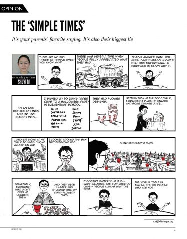 The 'Simple Times'