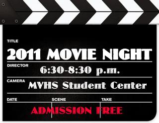 2011 Movie night fundraiser