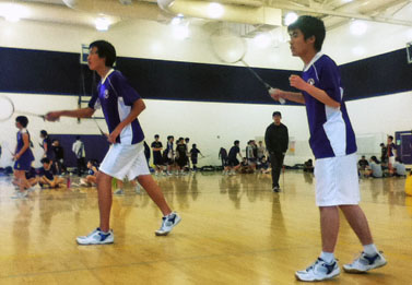 Badminton beats Milpitas in first league game of the season