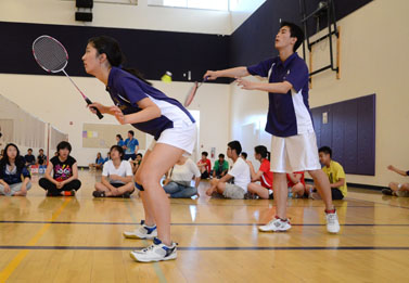 Badminton team sends six players to first day of SCVALs