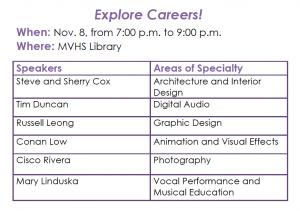PTSA launches Explore Careers! program