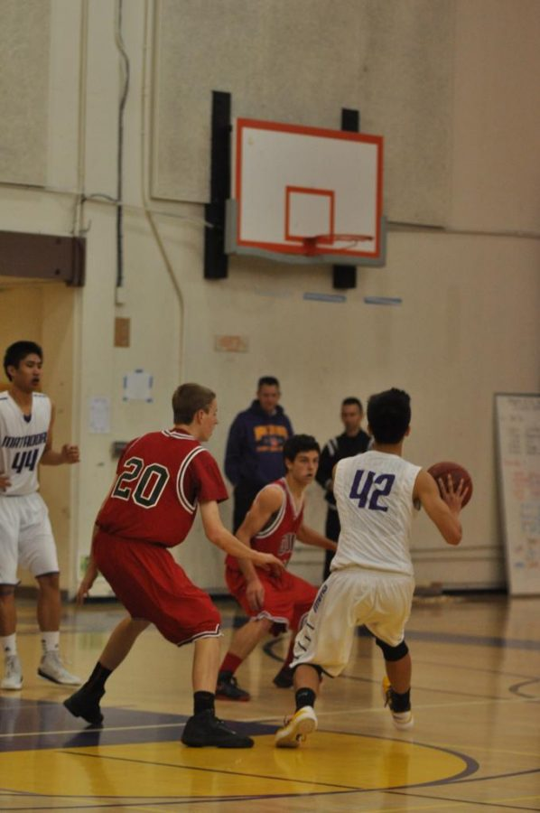 Boys+basketball%3A+Keerthi%E2%80%99s+double-double+leads+MVHS+to+victory+over+Gunn
