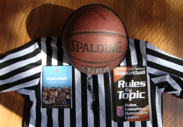 Basketball officiating from the referee's point of view