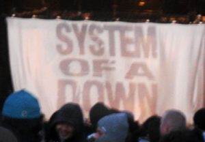 System of a Down performs at Shoreline Amphitheater