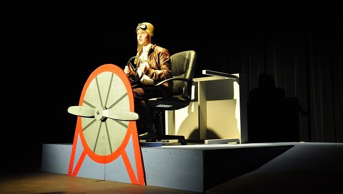 "DRAMA: Student-produced ""Amelia Earhart"" soars high"