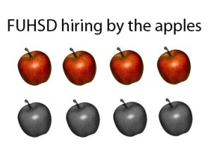 FUHSD hiring by the apples
