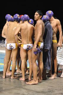 The boys varsity water polo team swallows a tough loss
