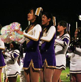 Flying high: A cheerleaders life