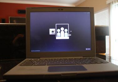 Cr-48 Chrome OS Notebook lacks function