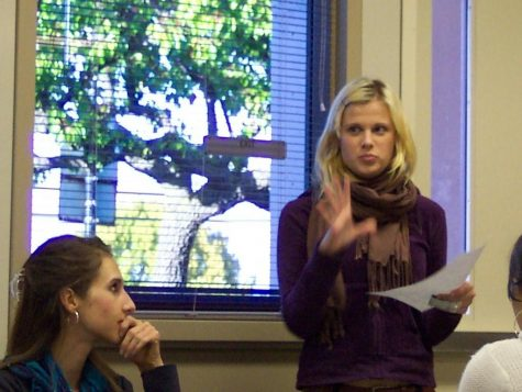 Debating in French a very different experience