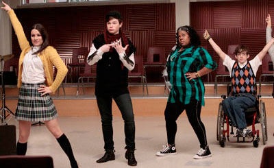 Jumping for Glee