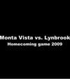 Homecoming football game highlight reel