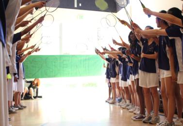 Badminton: Senior night victory keeps undefeated record