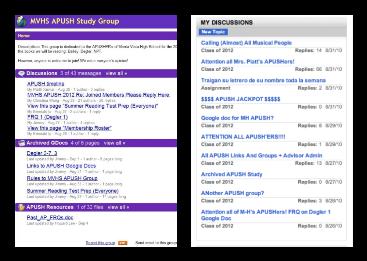 Google Docs facilitates APUSH collaboration