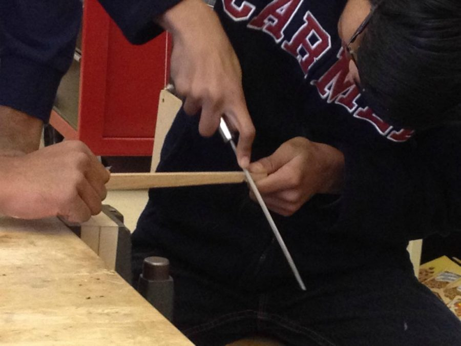 Woodwork provides refuge from fast-paced campus life