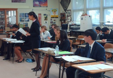 Mock Trial benefits from scrimmages