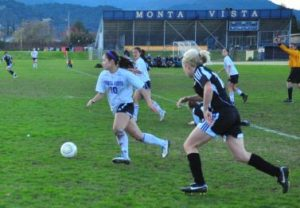 Girls soccer ties against Mountain View, 1-1