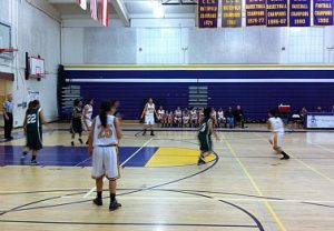Girls varsity basketball hosts tournament