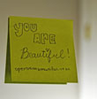 Seeing life through sticky notes