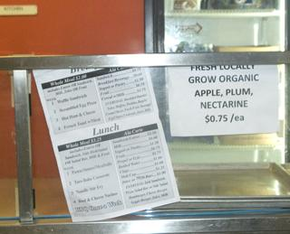 New organic lunch menu promotes healthy eating