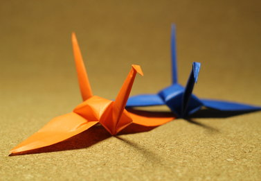 VIDEO: Origami for Japan