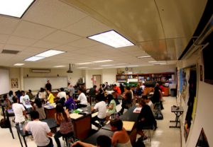 Overcrowding in classes leads to complications