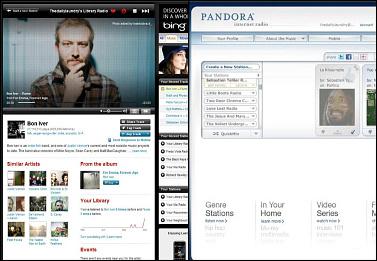 Last.fm vs. Pandora: Streaming music online