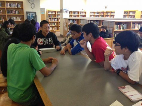 Essay Escort meets in the MVHS library.