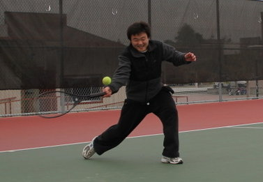 The talented tennis player