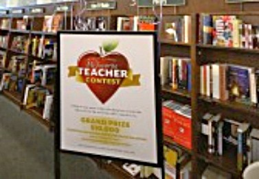Teacher wins Barnes & Noble's