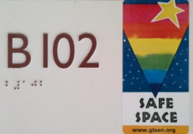 Out in the open: Creating a safe space