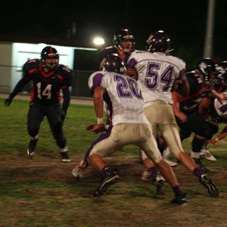 Halloween game: Senior night football