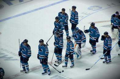 All aboard the hockey bandwagon