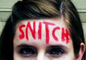 Snitch: examining the phenomenon