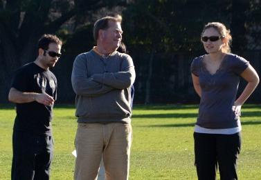 Athletic Director Jeff Mueller steps in for boys soccer