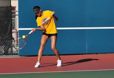 Girls tennis secures a spot in CCS quarter-finals