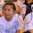 CCS badminton: home court advantage