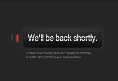 Tumblr temporarily out of service