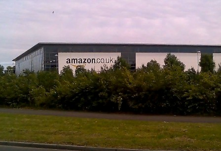 Warehouses such as these may soon be hives for busy drones, delivering thousands of packages to users within the hour. While a truly awesome prospect, the potential for government abuse should leave us wary of such a thing. Used without permission of Tech-ex under a creative commons license.