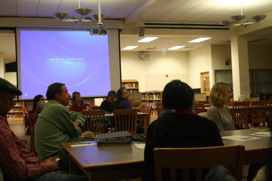 PTSA discusses Career Fair and results of WOW at fourth monthly meeting
