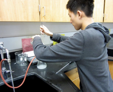 Junior David Wang part of top 20 high school chemists in nation