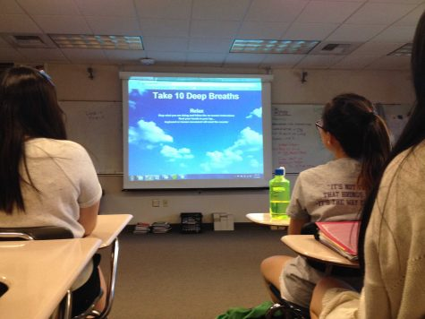 Faculty pilots 'Take 10 Deep Breaths' activity