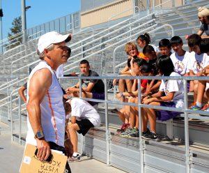 Cross Country helps team members grow positive attitude