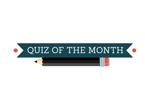 Quiz of the Month: January 2015