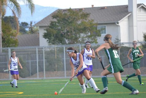 Field hockey: Game timeline of MVHS vs. Leigh High School
