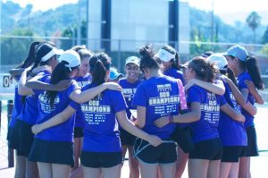 Girls Tennis: MVHS dominates against Homestead High School in second game of season