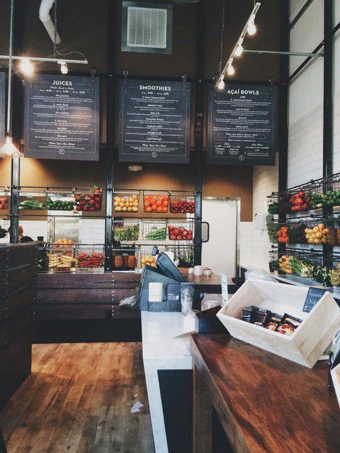 Food: Nékter juice bar